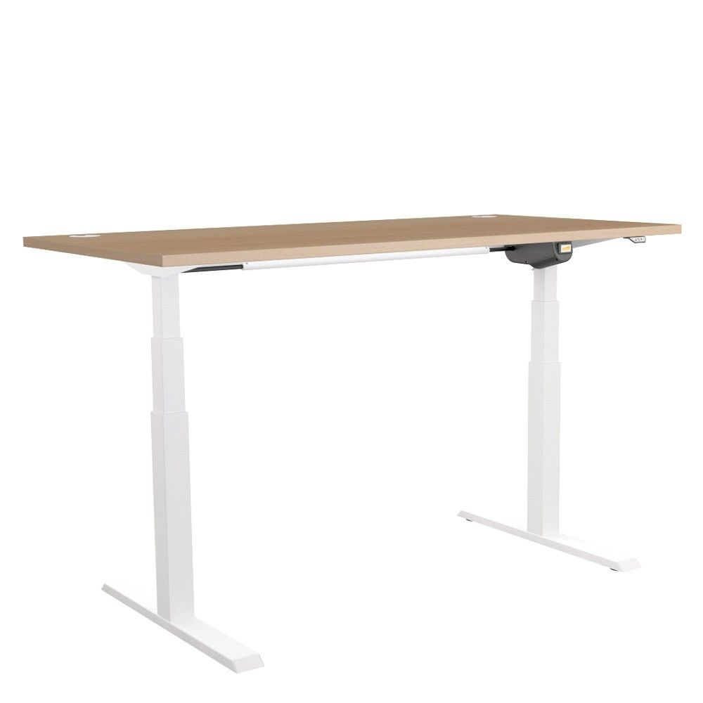 Great Unite Height Adjustable Desk   White Frame | NEXT DAY DELIVERY | Choose  From Various Desk