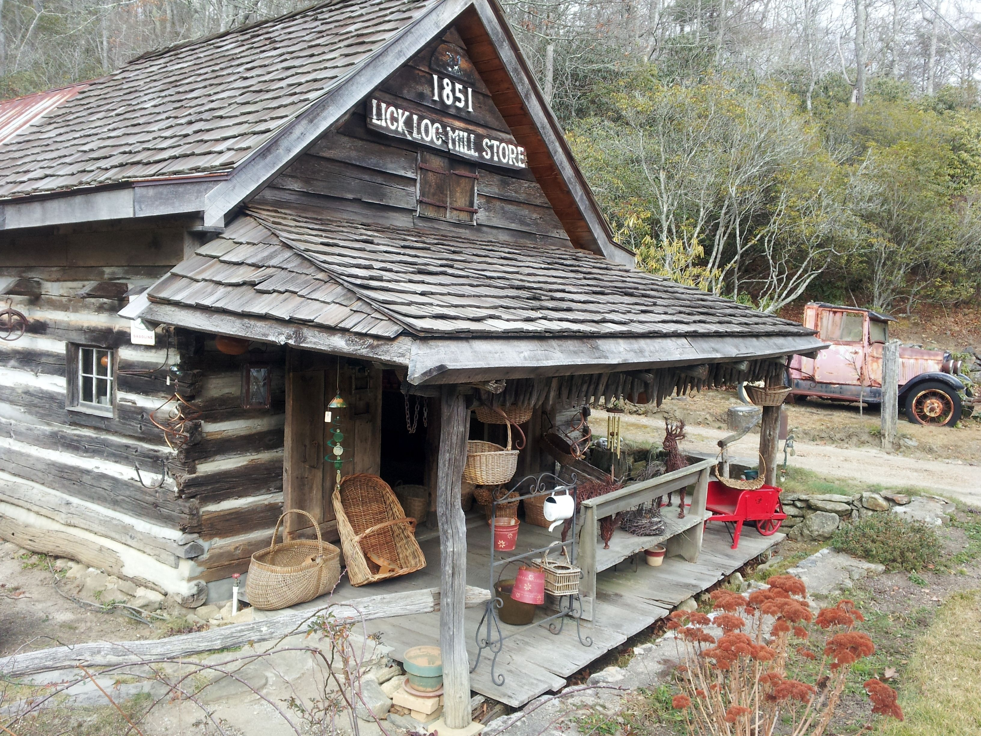 Lick log mill store