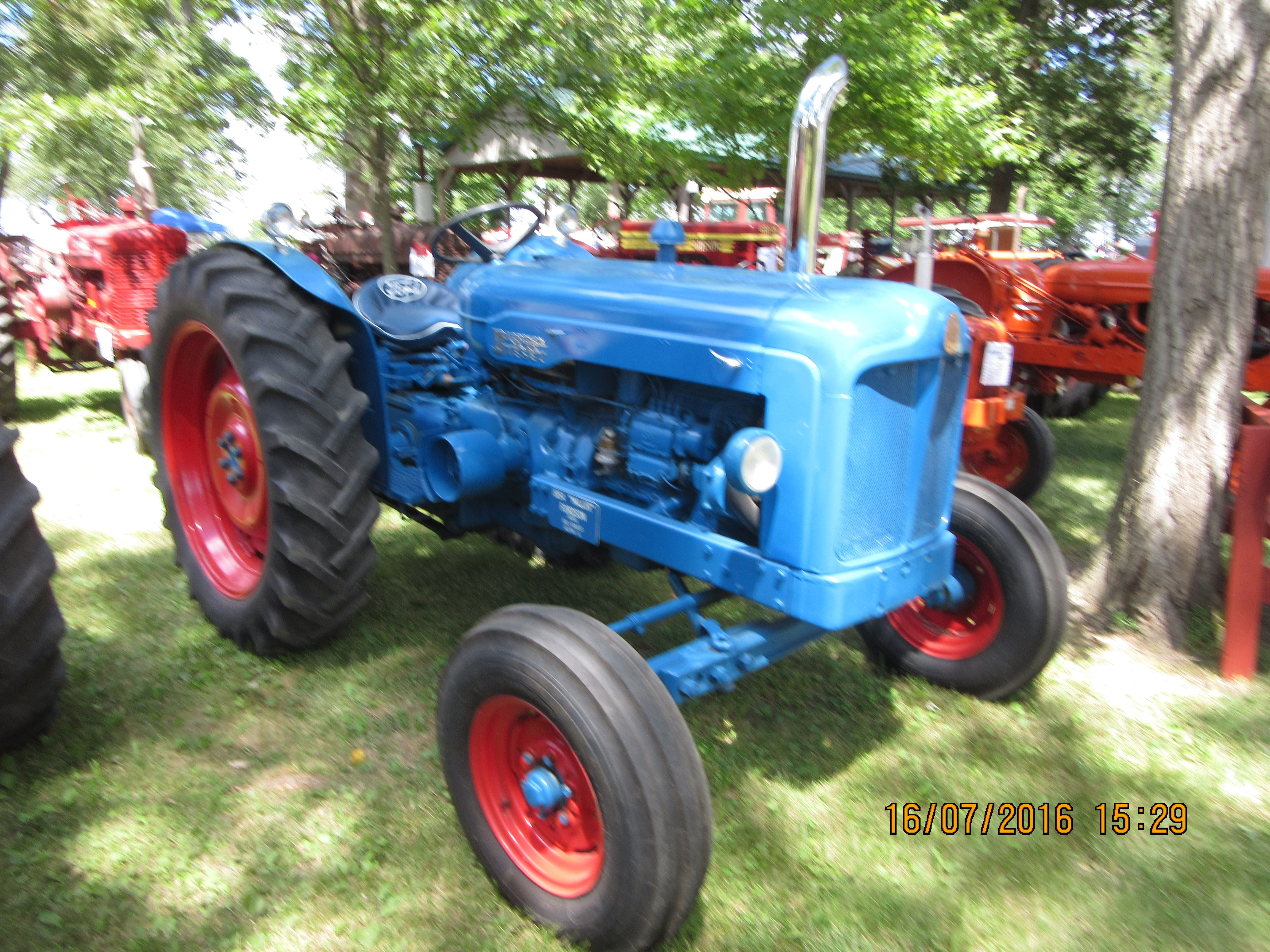 1954 fordson major ford tractors
