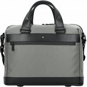 Photo of Montblanc My  Nightflight Cartella RFID 39 cm Scomparto Laptop grey black