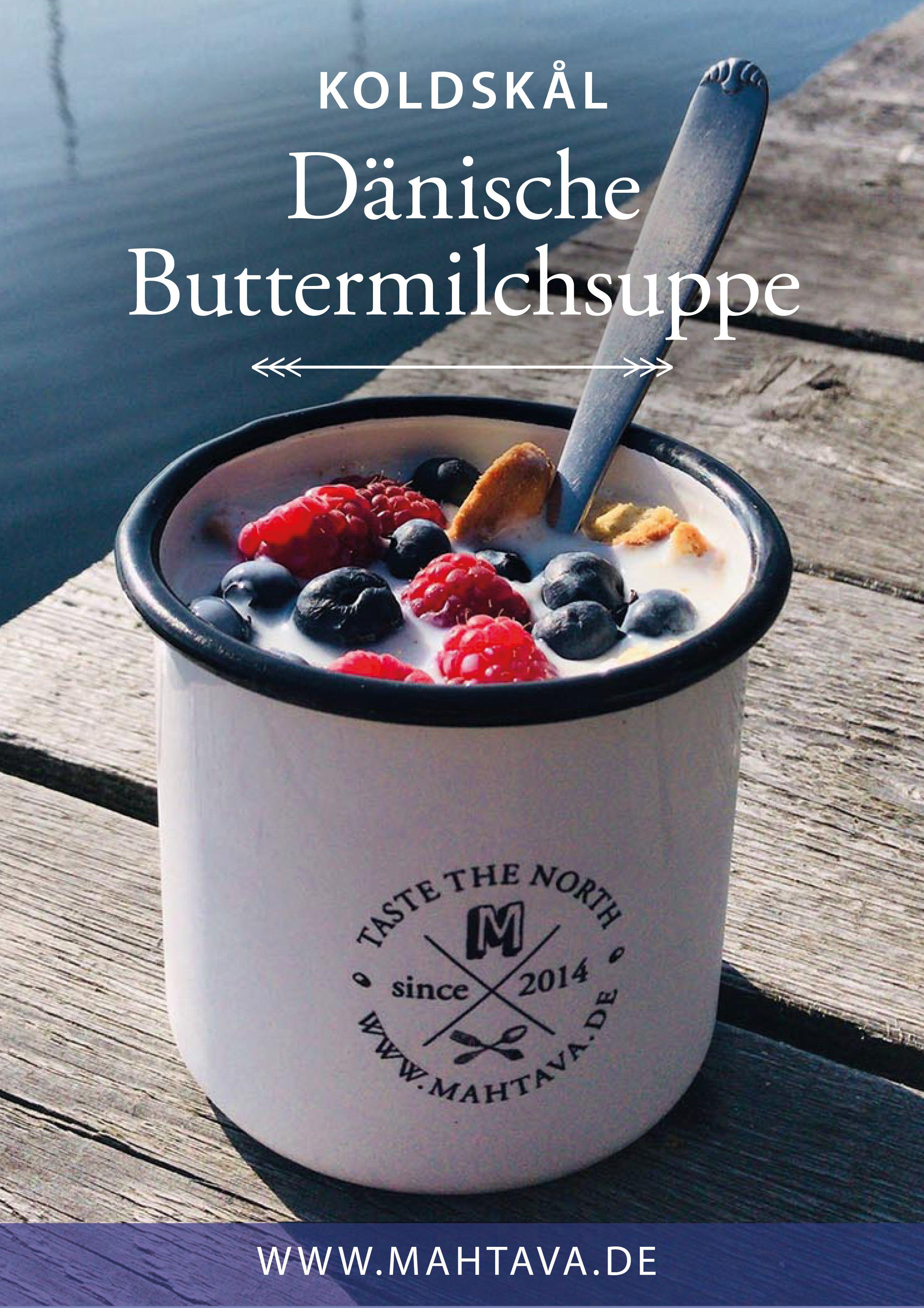 Dänische Küche Buttermilchkaltschale Koldskål • MAHTAVA ...