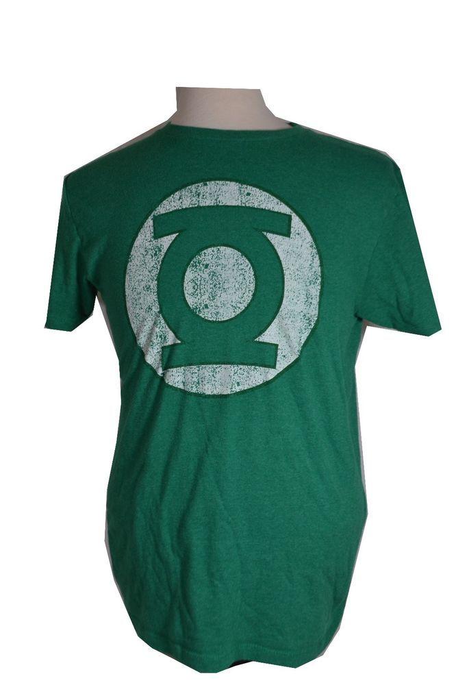 06a55d7ef Green Lantern Superhero Logo #DC #Comics Licensed Adult T-Shirt Medium  Distressed #GreenLantern up for #auction #cheap