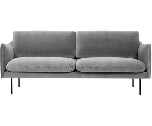 Photo of Moby divano in velluto (2 posti)