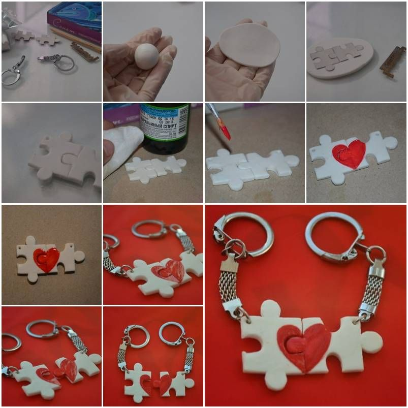 How to make lover puzzle key chain step by step diy tutorial how to make lover puzzle key chain step by step diy tutorial instructions how to solutioingenieria Gallery