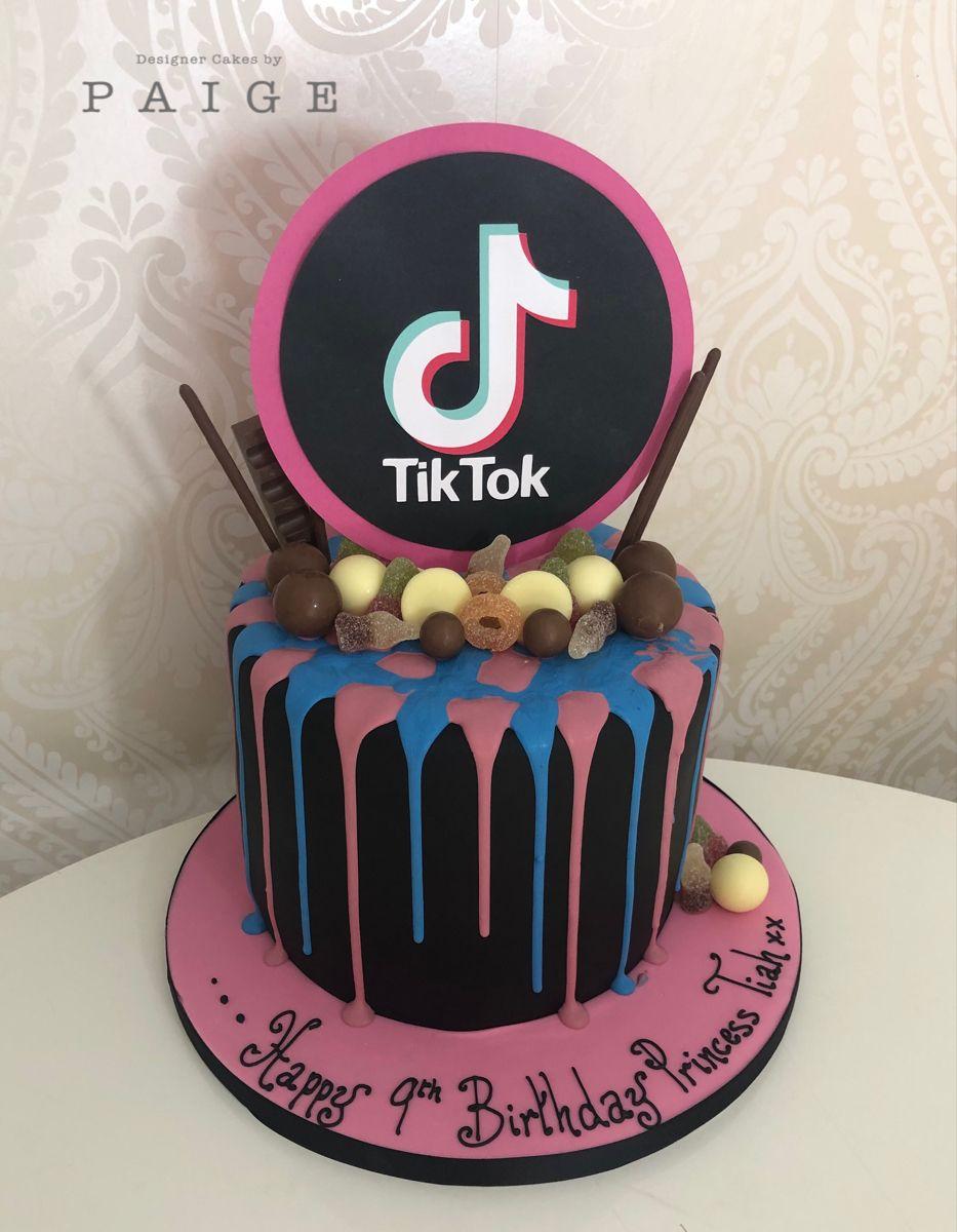 Tik Tok Birthday Cake Cake Cake Designs Birthday Cake