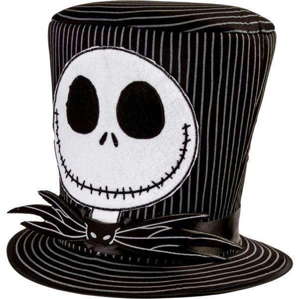 Jack Skellington Top Hat - The Nightmare Before Christmas ...
