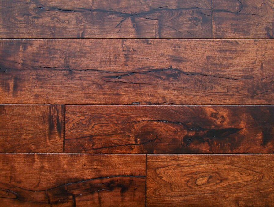 Hand scraped mesquite wood flooring texas mesquite for Texas floors