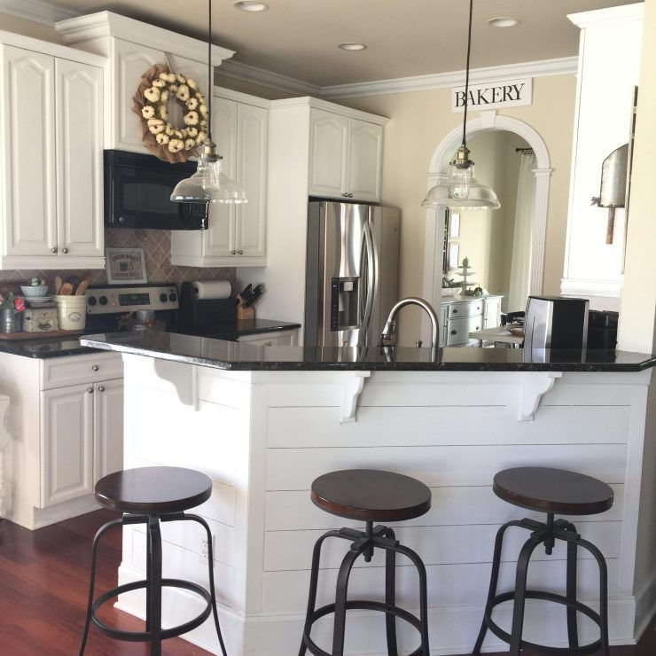 Kitchen Island Updates: Farmhouse Style Fall Home Tour And Fall Inspiration From