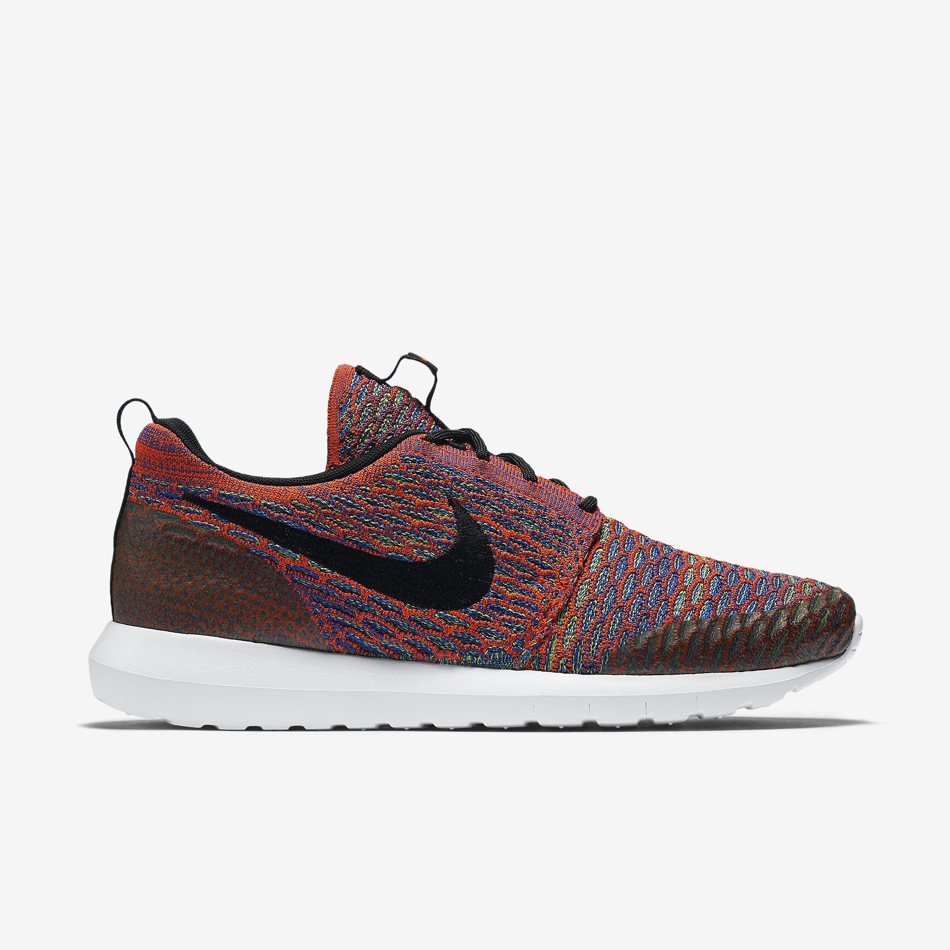 Nike Roshe NM Flyknit SE (Bright Crimson/Green Strike/Game Royal/Black