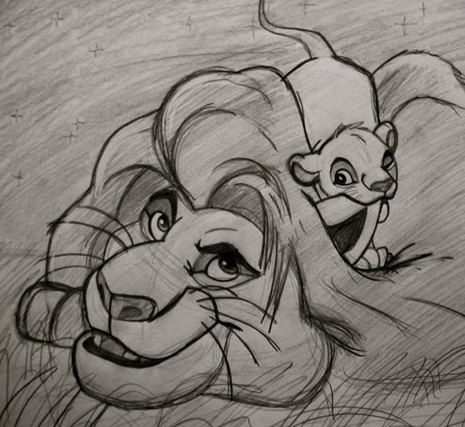Lion King. Drawing In 2019 Disney Drawings
