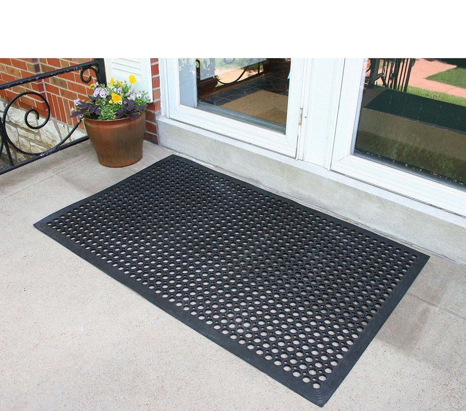 Basics Industrial Utility Mat Rubber flooring, Outdoor
