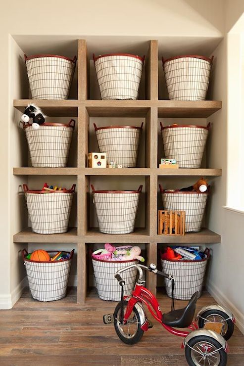Merveilleux Toy Organization, Perfect For In A Garage Or Mudroom! So Going To Do This  In The Future To Keep Kids Toys Picked Up And Out Of The Way For The  Everyday Life ...