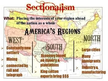 image result for sectionalism