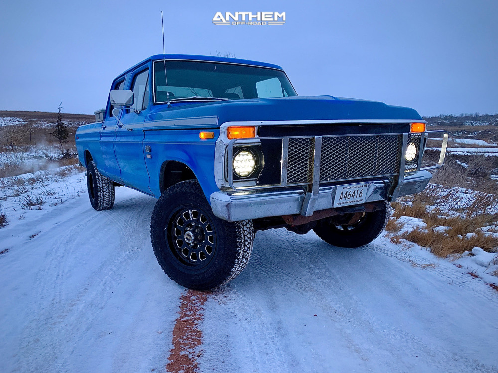 3 1976 F 250 Ford Stock Air Suspension Anthem Intimidator