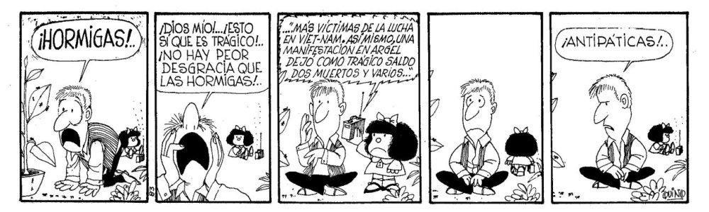 A 50 Años de Mafalda......
