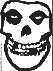 Misfits Skull Stencil For Pumpkin Halloween Misfits Band Band