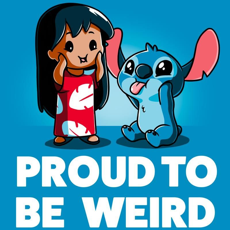 450af692 Proud to be Weird T-Shirt Disney TeeTurtle Lilo And Stitch Shirt, Cute  Tshirts
