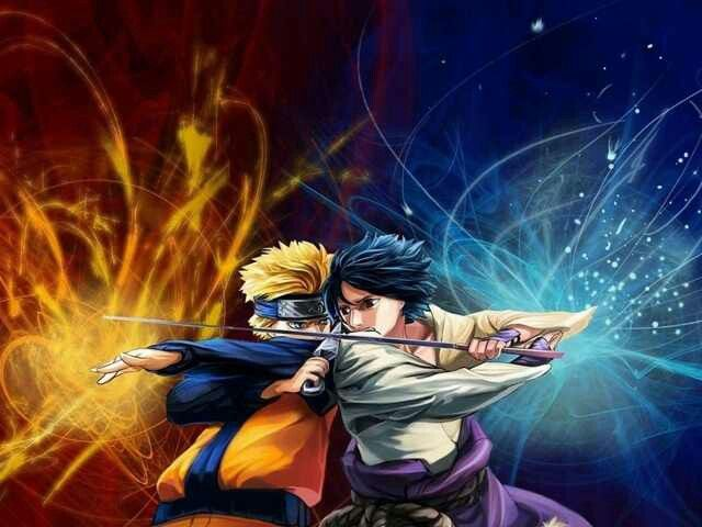Naruto And Sasuke Clash Naruto Wallpaper Naruto And Sasuke Naruto Vs Sasuke