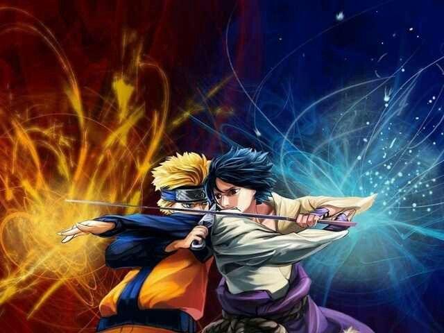 Naruto And Sasuke Clash Naruto Wallpaper Naruto And Sasuke