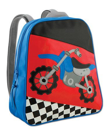 Take a look at this Red & Blue Go-Go Motocross