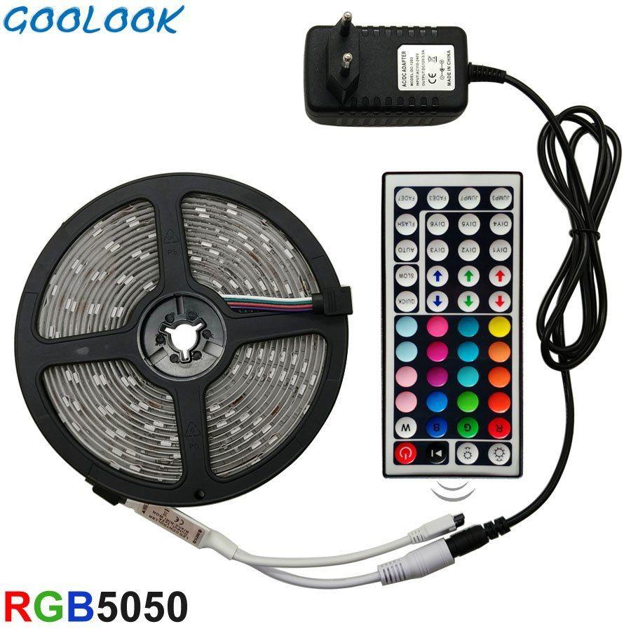 Led Strip Light 2835 SMD RGB Tape 5M 10M 15M 20M DC12V 3528 Flexible RGB LED kit