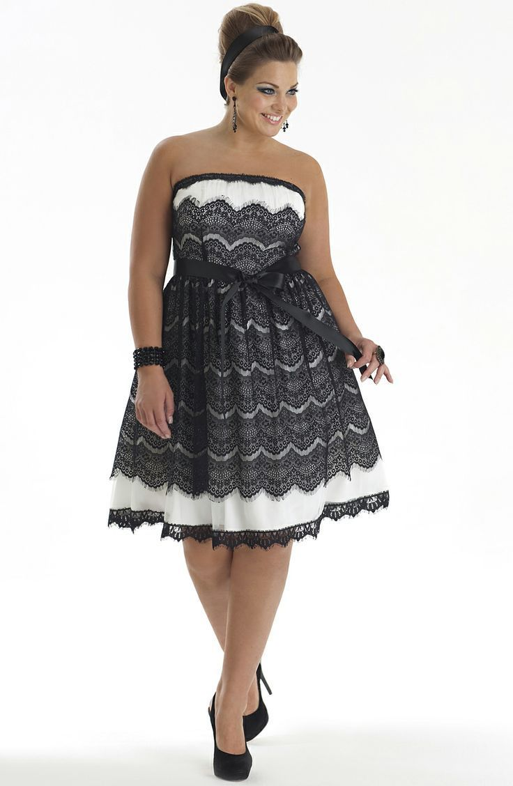 Pin En Party Dress Plus Size