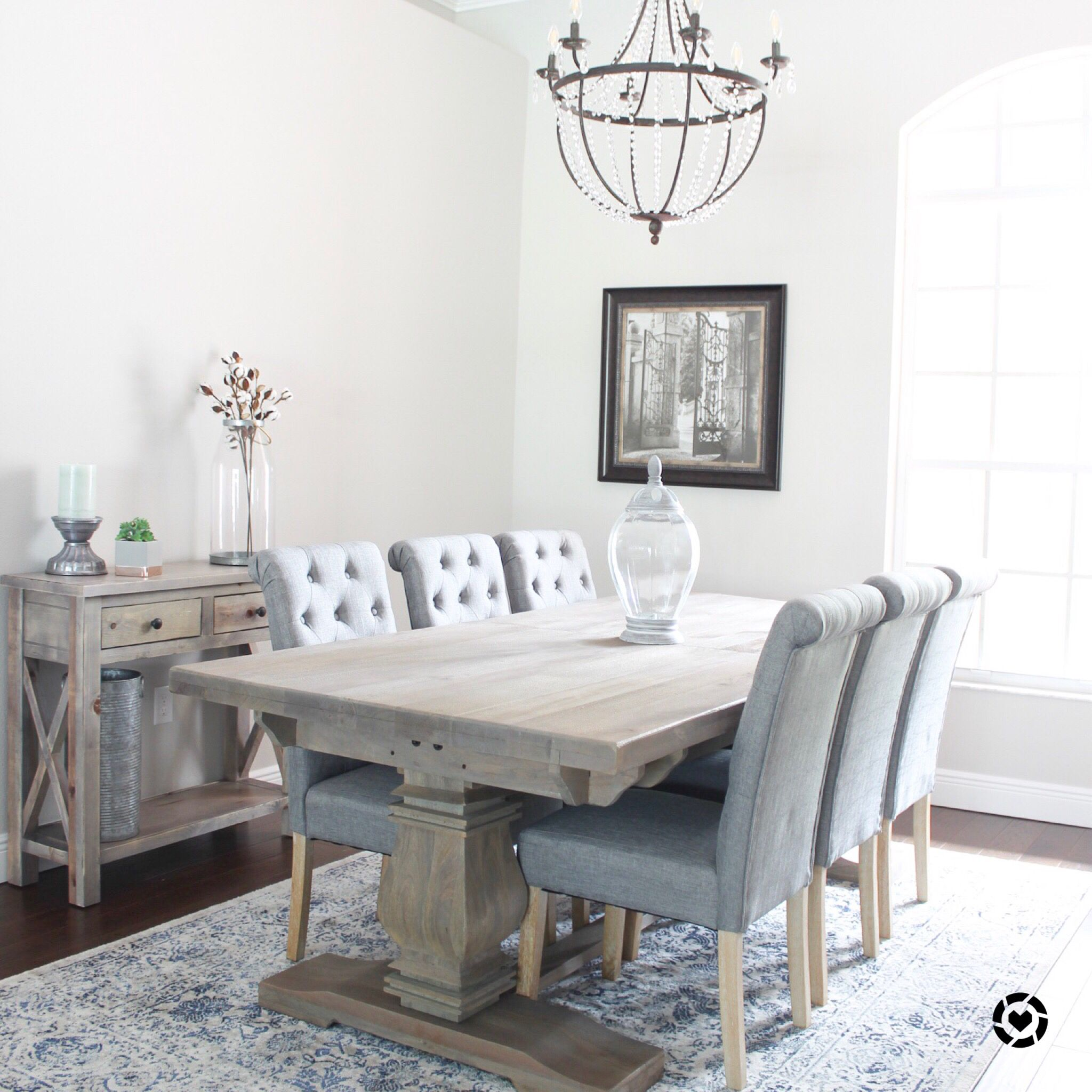Charming And Cheap Decor Ideas Formal Dining Room: Budget Farmhouse Trestle Table