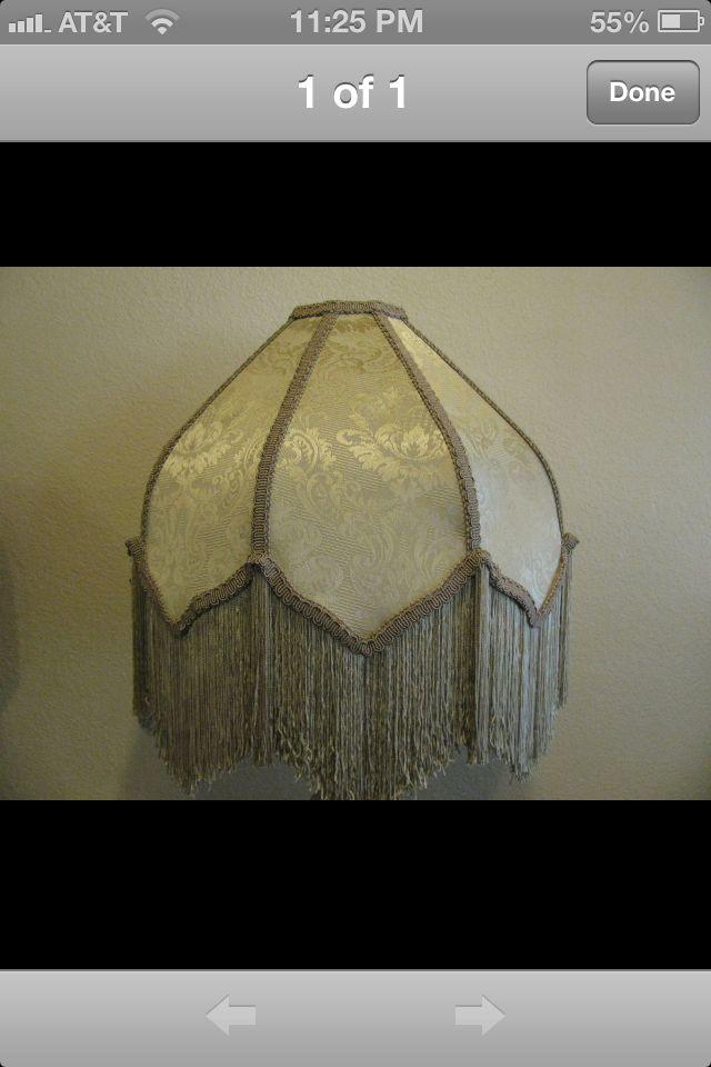 Vintage Fringe Lamp Shade Cool Furniture Home Decor Decor