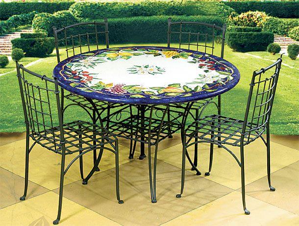 italian patio elegant furniture