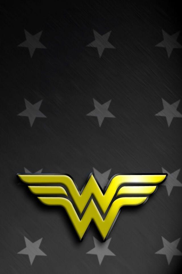 Wonder Woman Logo Iphone Art Wonder Woman Logo Pop Art