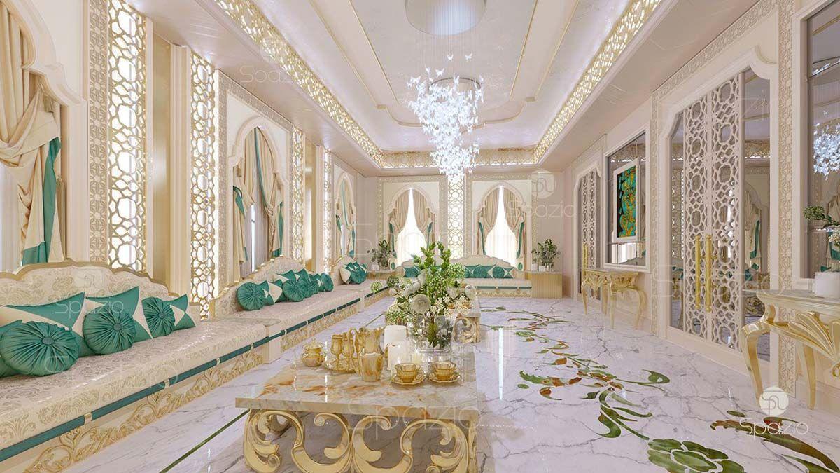 Arabic Women Majlis Interior Design Dubai Classic Interior Design Neoclassical Interior Design