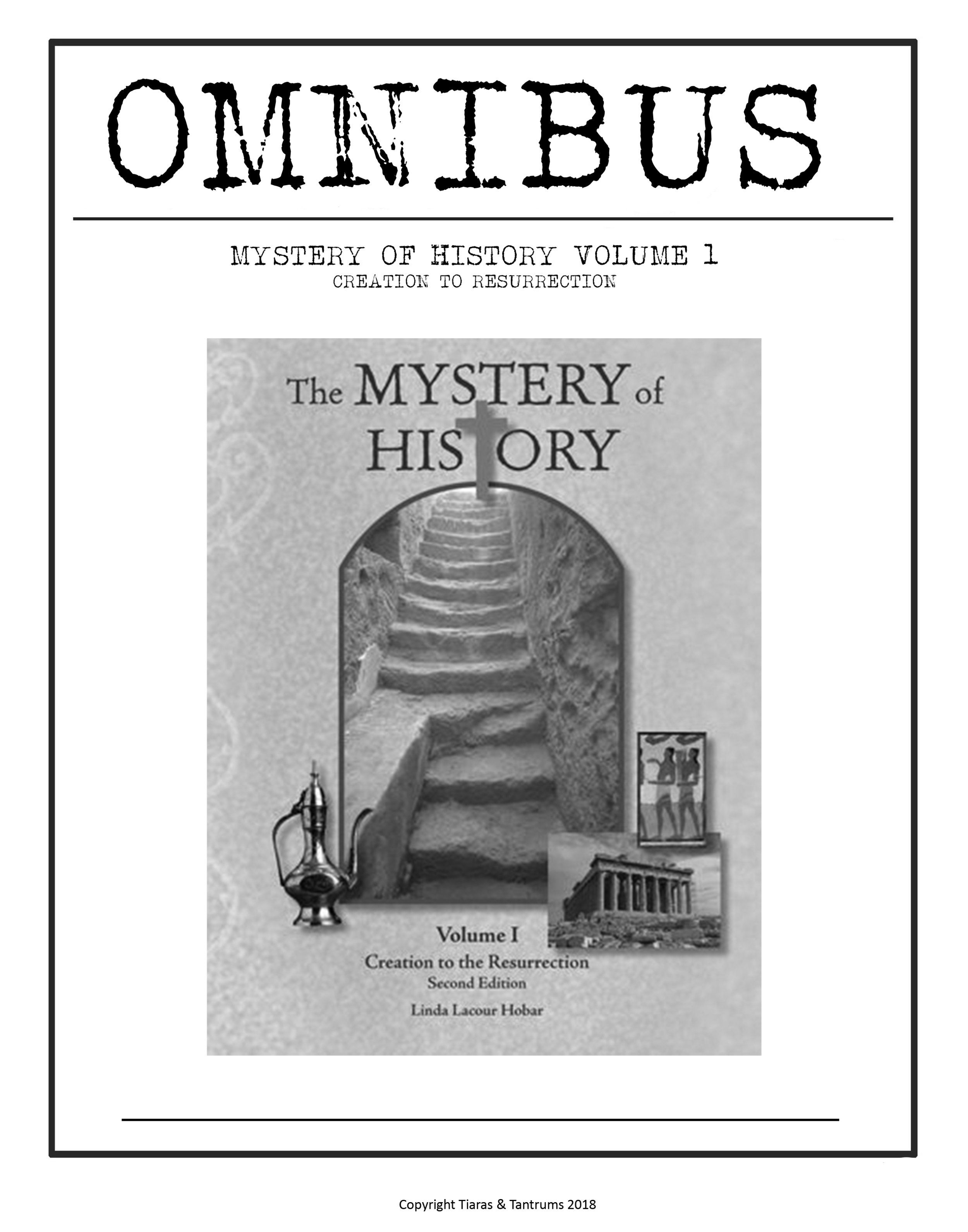Mystery Of History Omnibus Mega Pack Vol 1 Curriculum