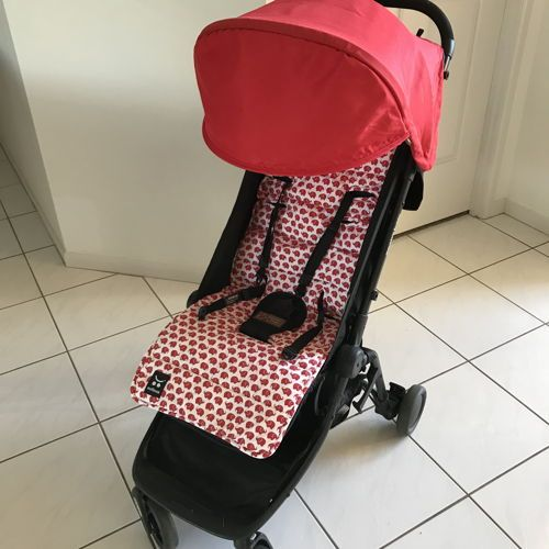 Twin Stroller Gold Coast Mountain Buggy Nano V2 Pram Ruby Bag Mountain Buggy