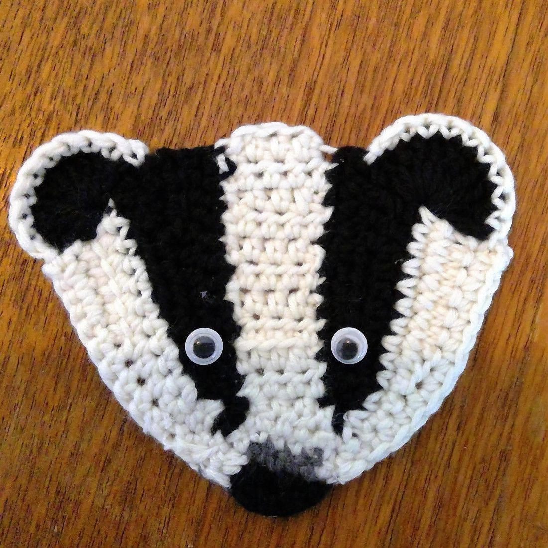 Ravelry: Badger Your MP Crochet Badger Pattern pattern by Ruth Norbury   1100x1100