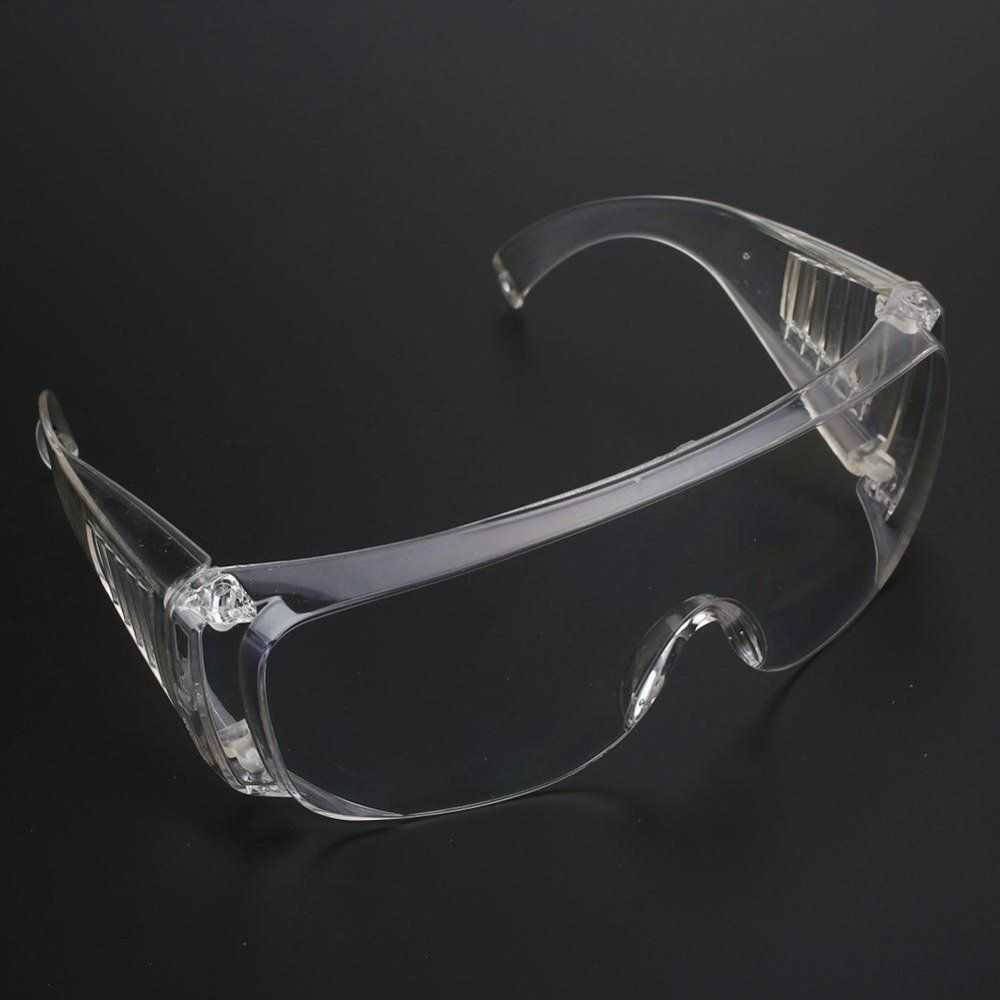 fc2c73a98e8f6 Mens Women Transparent Windproof Protection Glasses For Lab Work Running  Workers Clear Eyeswear