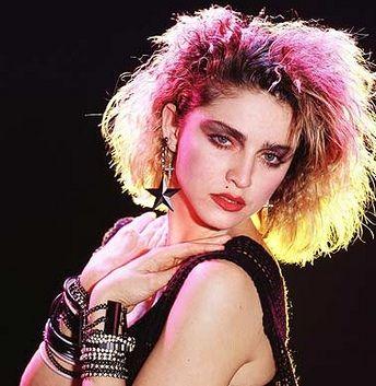 Hairstyles Through The Decades Madonna Hair Styles 80s Hair