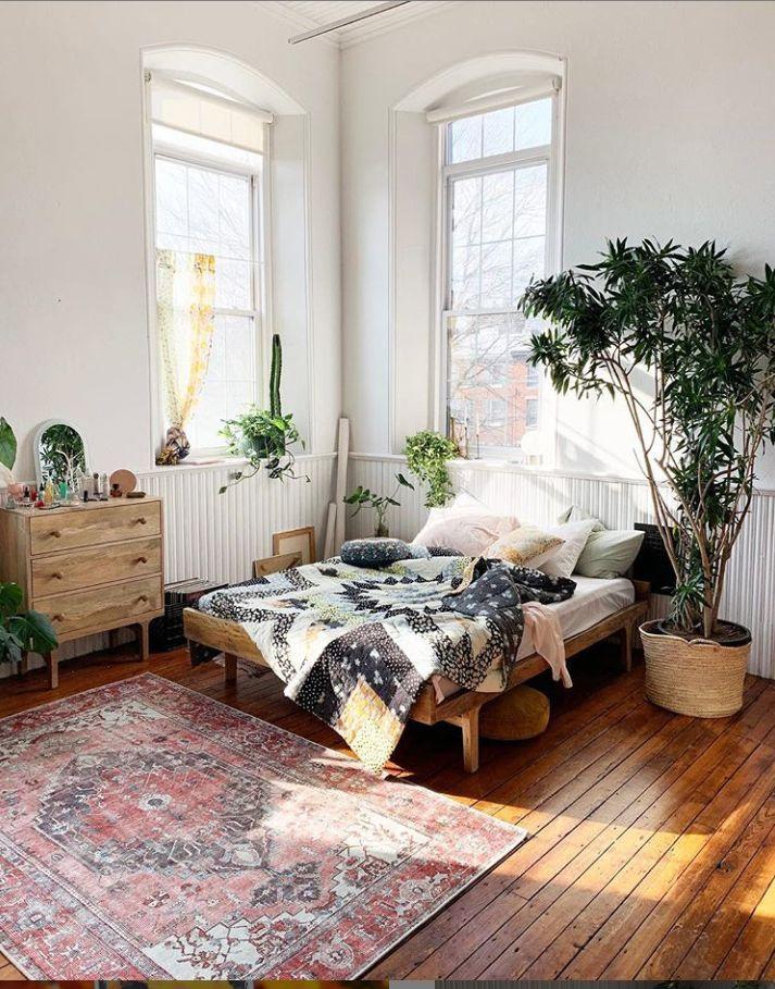 50 Rustic Boho Bedroom Decor Ideas For Small Apartment Boho Schlafzimmer Dekor Schlafzimmer Dekor Ideen Wohnung Mobel