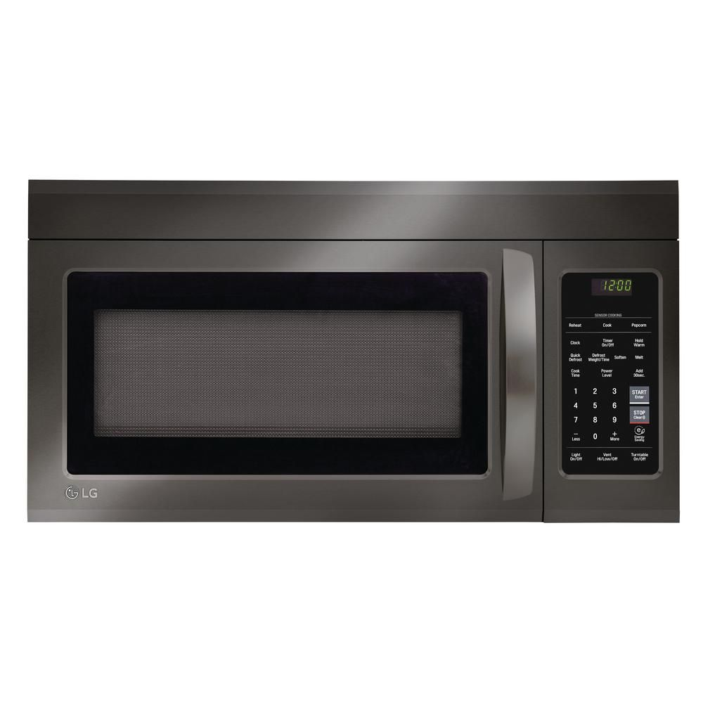 Lg Electronics 1 8 Cu Ft Over The Range Microwave With Sensor