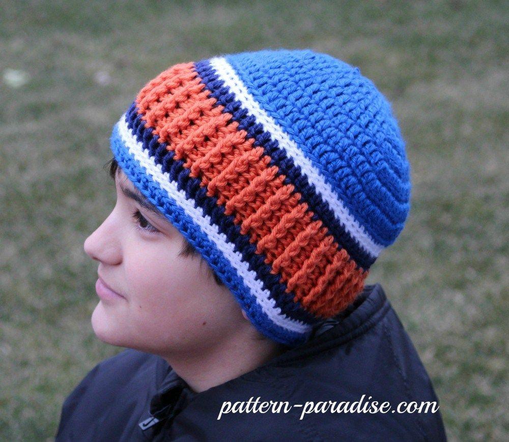 Free crochet pattern for men s   women s unisex beanie by  pattern-paradise.com  crochet  patternparadisecrochet  hat  fbeanie 6e2b3531b6