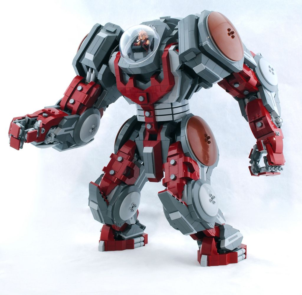 how to make a lego mech suit