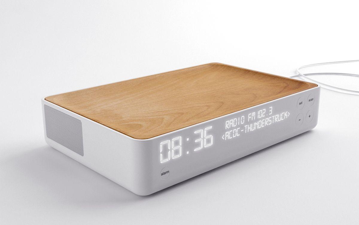 Alarm Clock Radio Clock Stone Designs Disenos De Unas