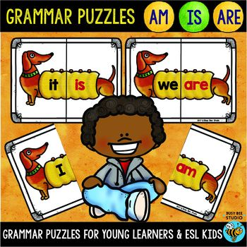 Subject Verb Agreement Am Is Are Puzzles My Tpt Products