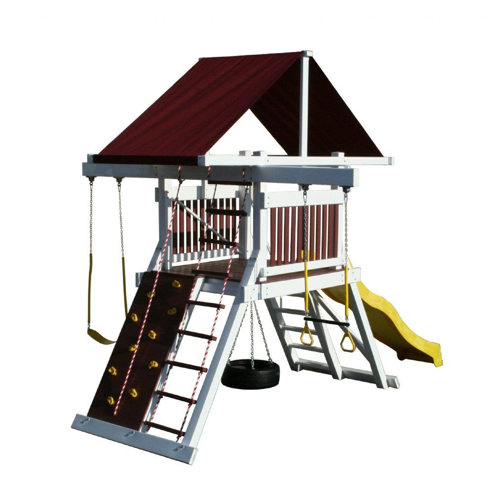 Olympic Trainer Swing Set By Pinnacle Play Systems