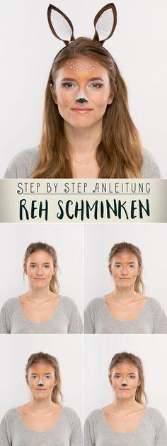 Schminke Reh Easy Deer Makeup Tutorial 2019 12 18