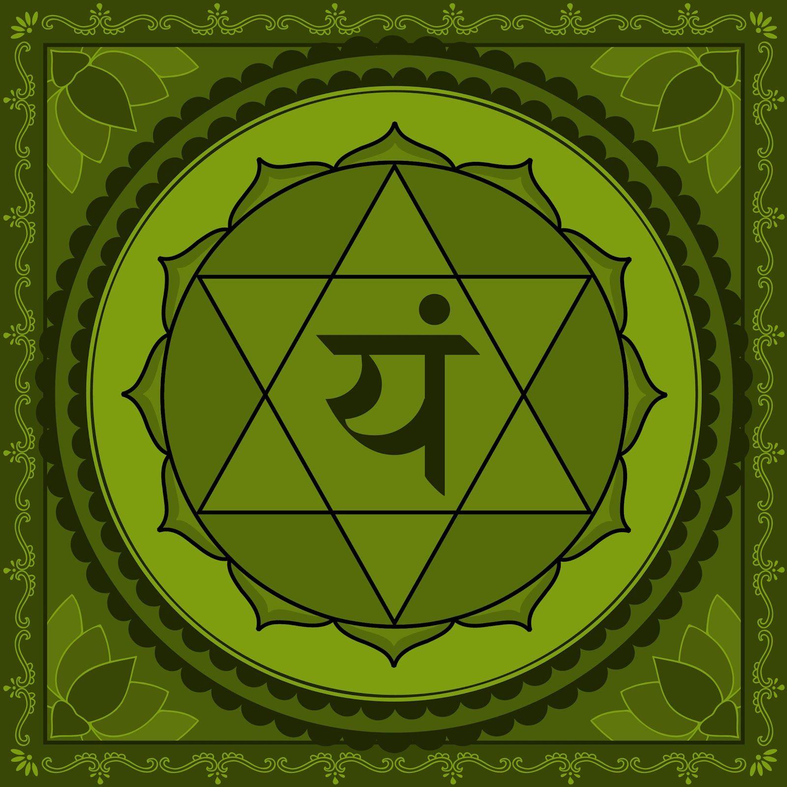 Image result for anahata chakra