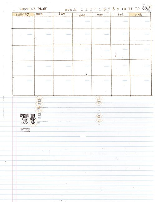 Free Printable DIY planner templates daily record \u2022 goals  ideas