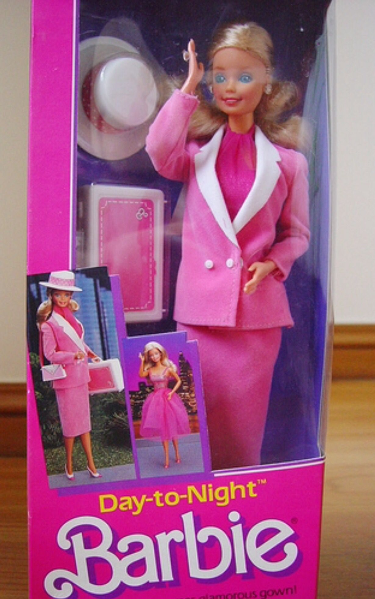 061c1f7c5946 1984 Day to Night Barbie. I remember my dad bought me this Barbie that  summer for having good grades. He let me pick it out.