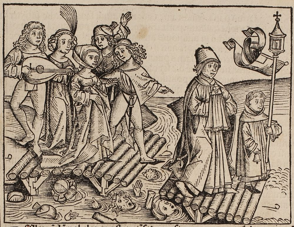 Nuremberg Chronicle Woodcuts, 1480s, Michael Wolgemut ...