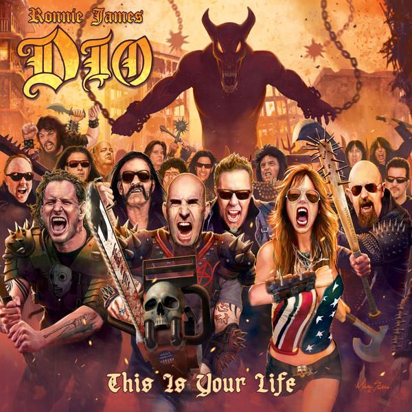Ronnie James Dio (A Tribute To) This Is Your Life - Various Artists on  Covers of Ronnie James Dio's Greatest Songs from Rainbow, Black Sabbath &  Dio by ...
