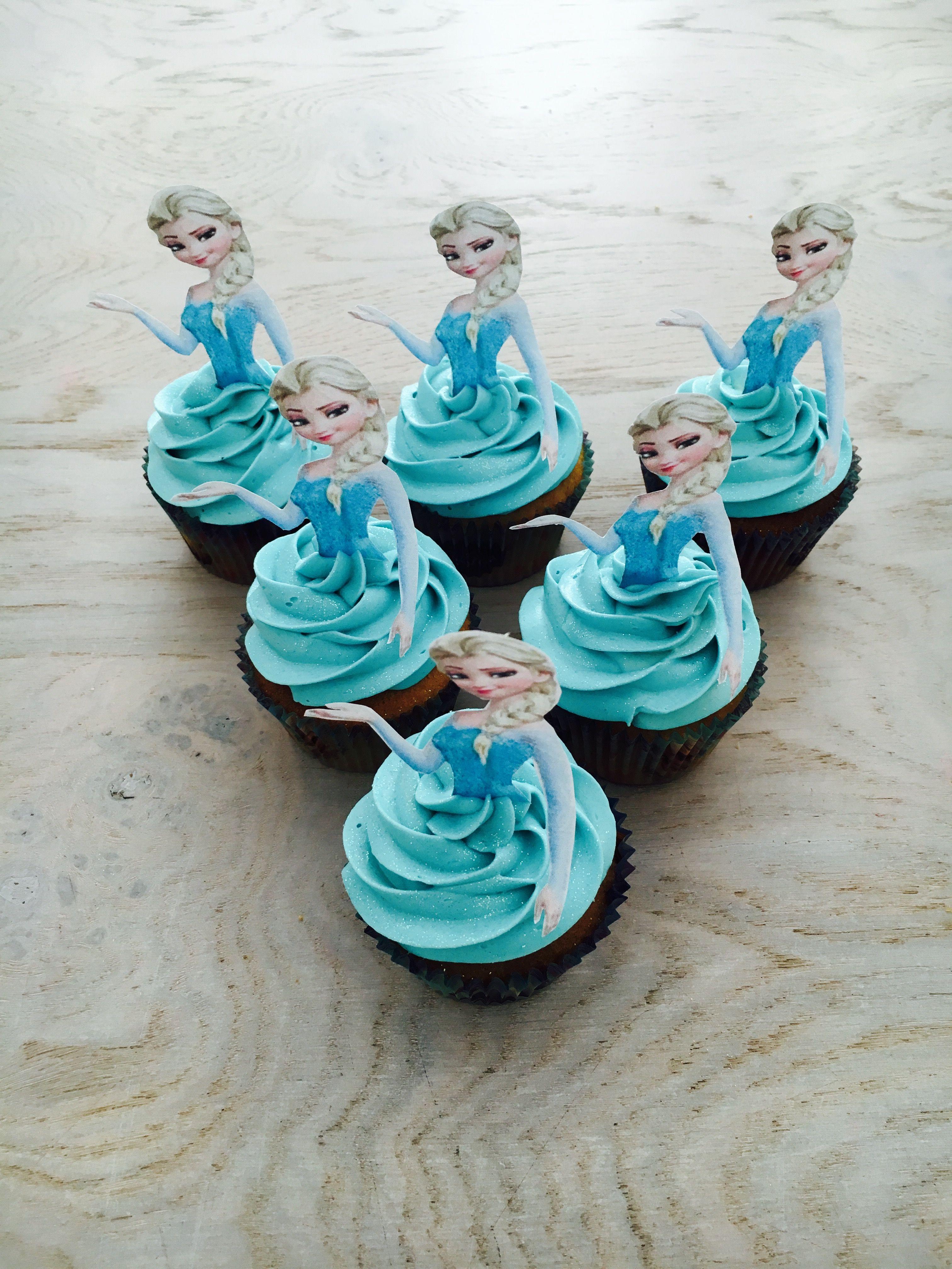 Elsa cupcakesfrozencupcakeselsa with images frozen